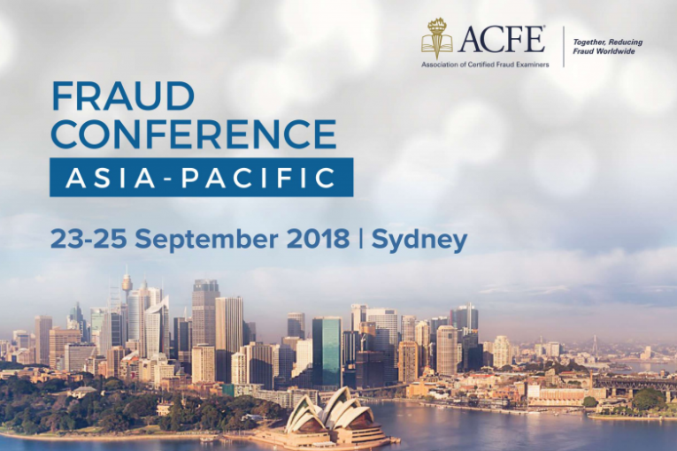 THE 2018 ACFE FRAUD CONFERENCE ASIA-PACIFIC-23-25 SEPTEMBER | SYDNEY